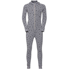 Odlo Active Warm One Piece Suit Kids grey melange